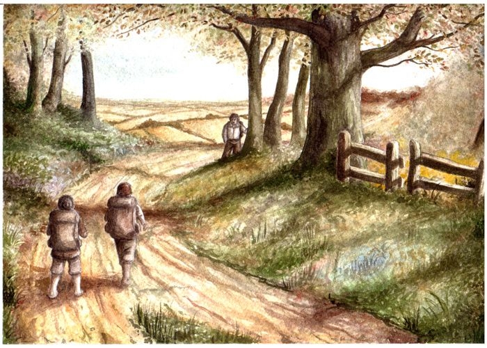 Three is Company (The Fellowship of the Ring, Book I, Chapter 3) ~ Peter Xavier Price.