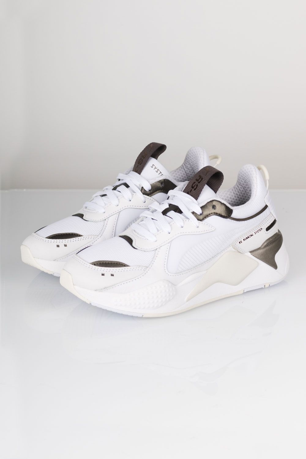 Puma - Sneakers - RS-X Trophy - White/Bronze | Chaussure ...