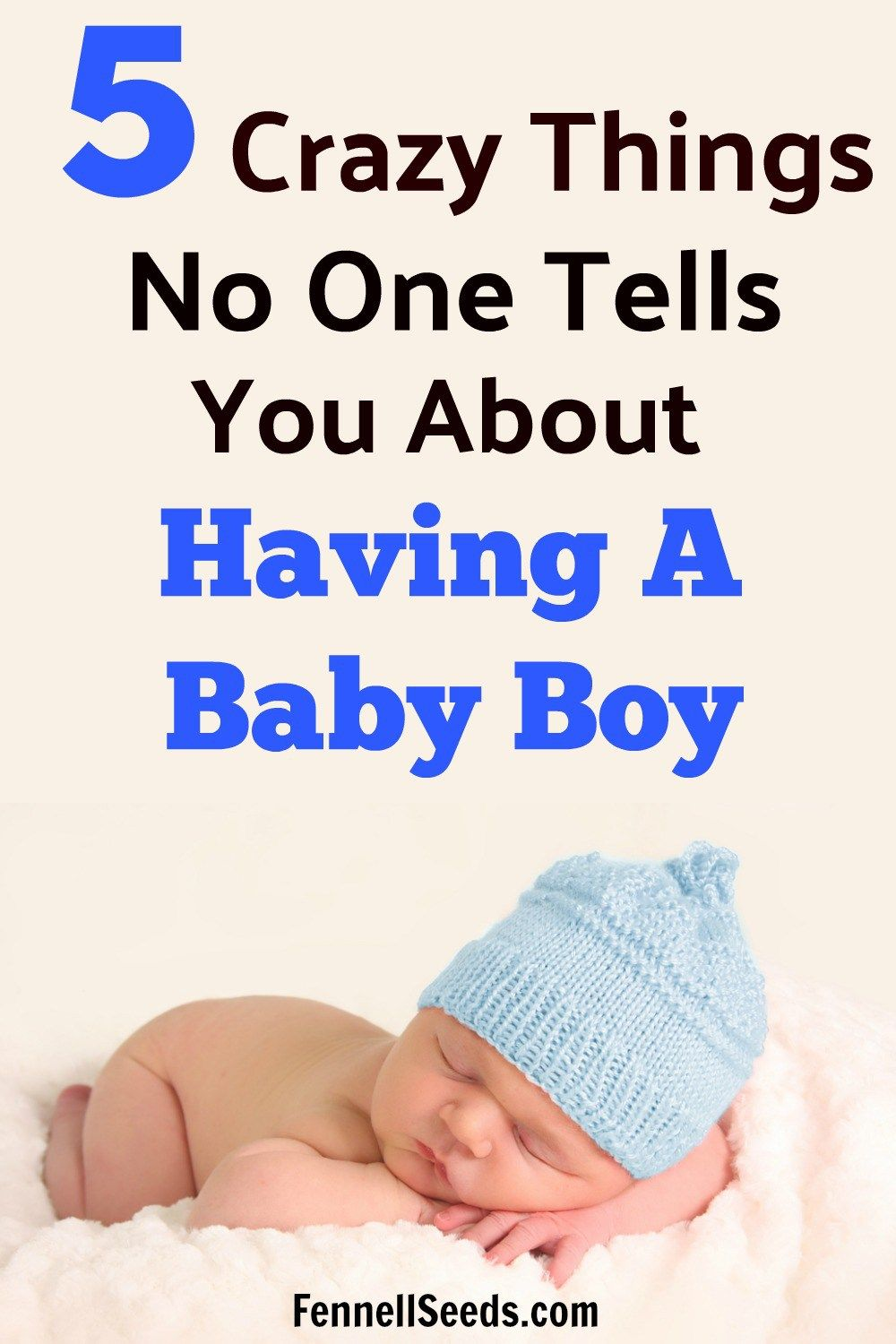 A list of things you need to know about having a baby boy versus having a girl. This is great preparation for having a newborn boy.