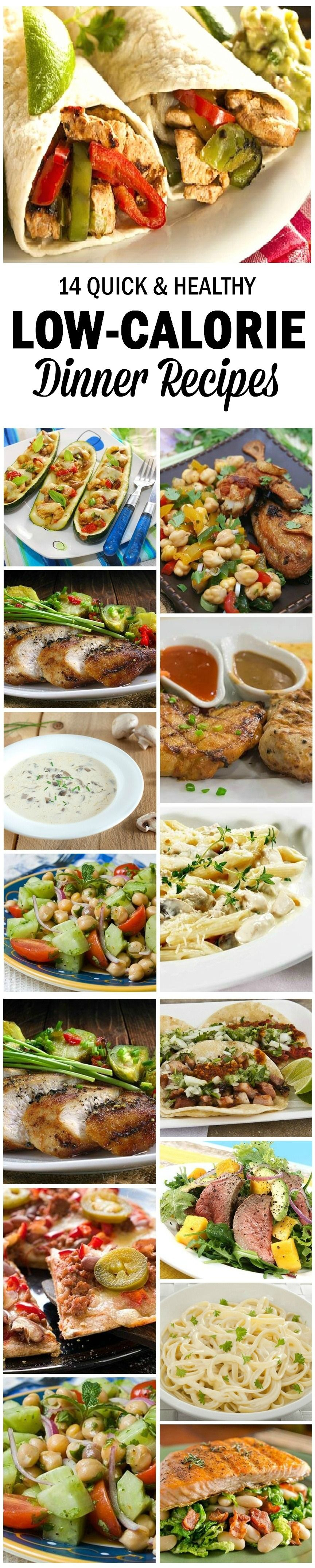 20 Quick And Healthy Low Calorie Dinner Recipes