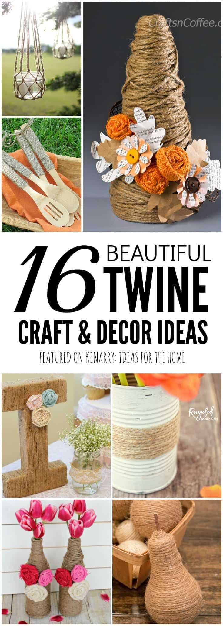 Jute Craft Ideas 16 Diy Projects And Decor Using Burlap Twine