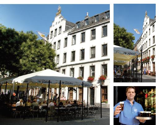 """""""Zum Schiffchen"""" ist das älteste Restaurant Düsseldorfs.   Brauerei Zum Schiffchen   Hafenstraße 5  40213 Düsseldorf"""