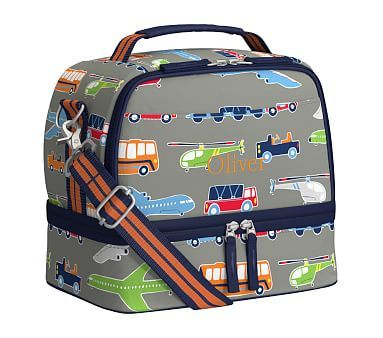Mackenzie Brody Transportation Lunch Box Reusable Lunch