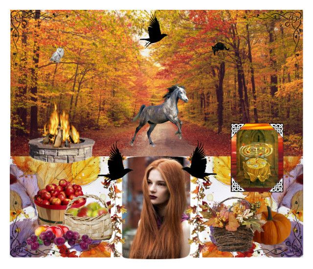 """""""Autumn Magic"""" by winscotthk ❤ liked on Polyvore featuring art"""