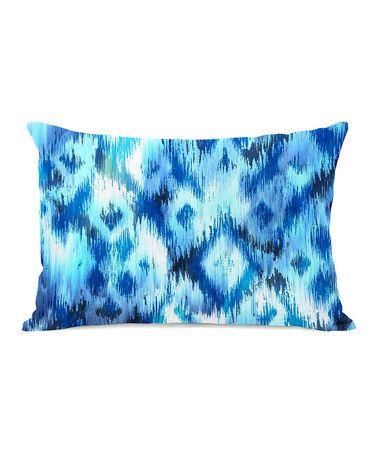 Another great find on #zulily! Blue Atlantis Pillow #zulilyfinds