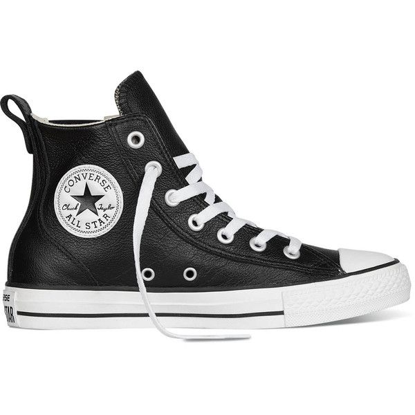 cb87a64c ... coupon for converse womens chuck taylor all star chelsee leather  athletic 995 ars liked on eb438