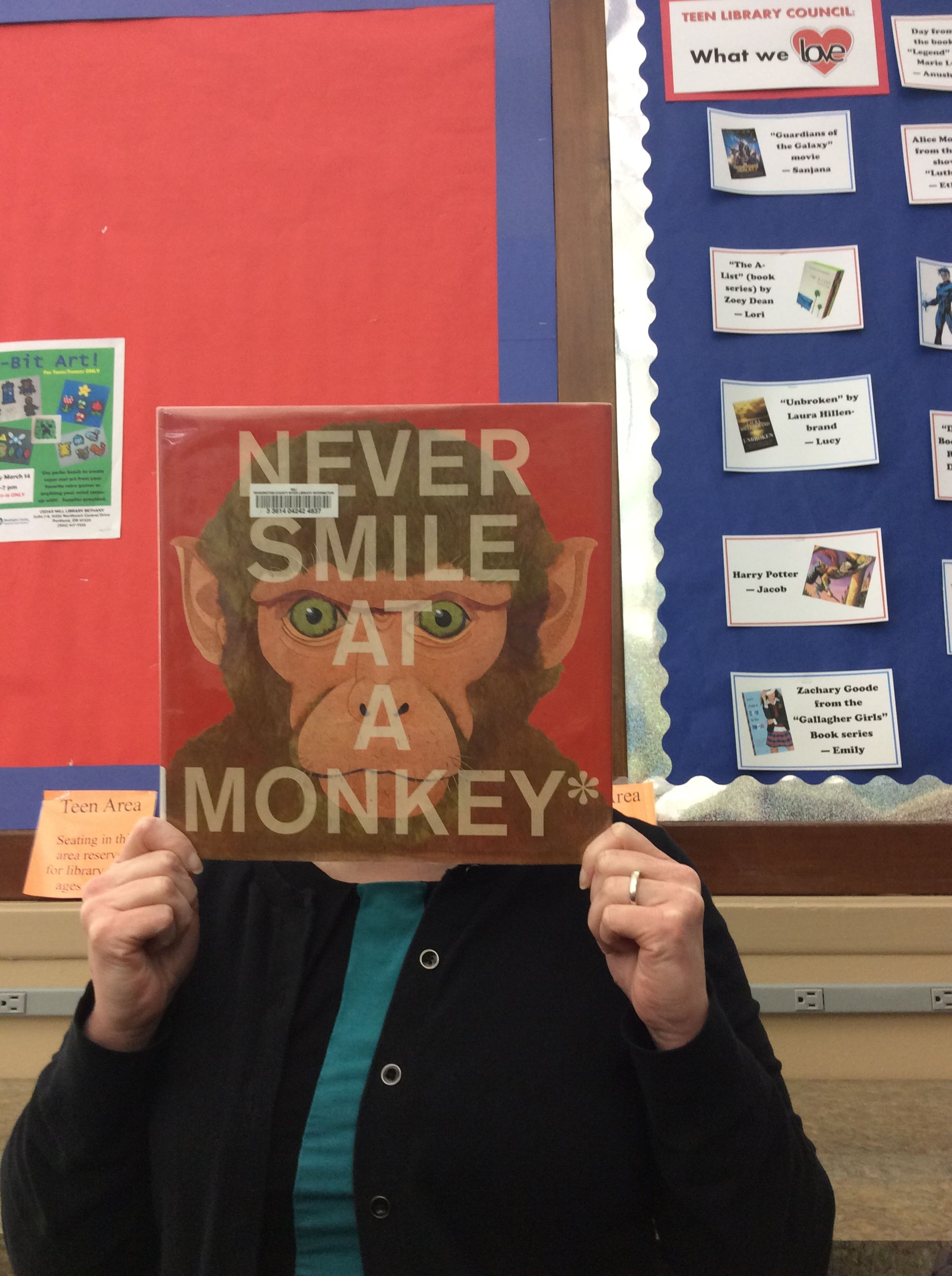 Never Smile at a Monkey* by Steve Jenkins Monkey