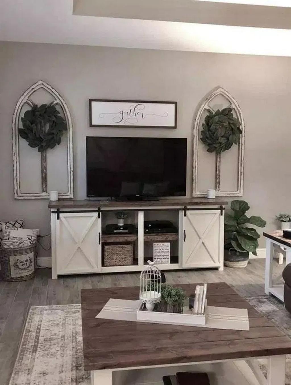 35 Popular Modern Farmhouse Living Room Decor Ideas In 2020 Modern Farmhouse Living Room Decor Farmhouse Decor Living Room Living Room Tv Stand