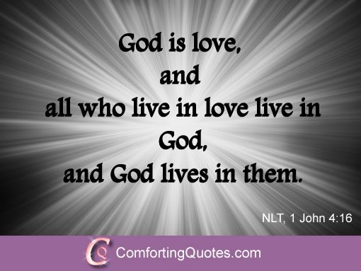 Image result for god is love scripture