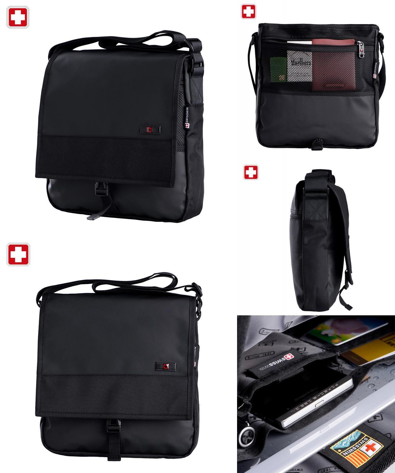 Visit to Buy  Swisswin Business Casual Messenger Bag Brand Casual Shoulder  Bag Medium Size 0e8beeebe8