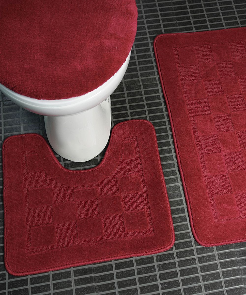 Burgundy bath rugs best sheet metal nibbler