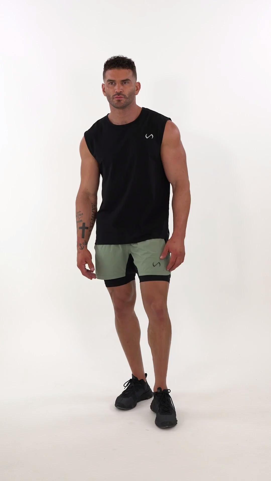 Element Air-Flex 2 In 1 Shorts -   thin fitness Men