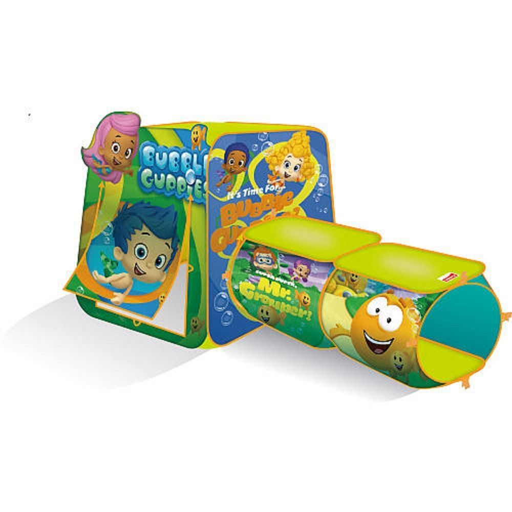 Playhut Bubble Guppies Discovery Hut | 1st birthday ideas ...