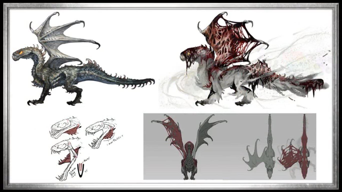 Image Result For Vaal Hazak Pepakura Monster Hunter World Wallpaper Monster Hunter Art Monster Concept Art