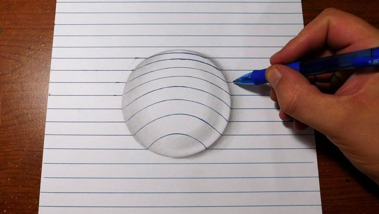 How To Draw Bubble On Paper 3d Art Trick Bubble Drawing 3d Art