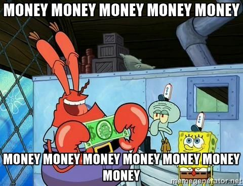 How To Earn Money From Old Electronics Part 2 Make Tech Easier Mr Krabs Funny Photo Memes Money Meme
