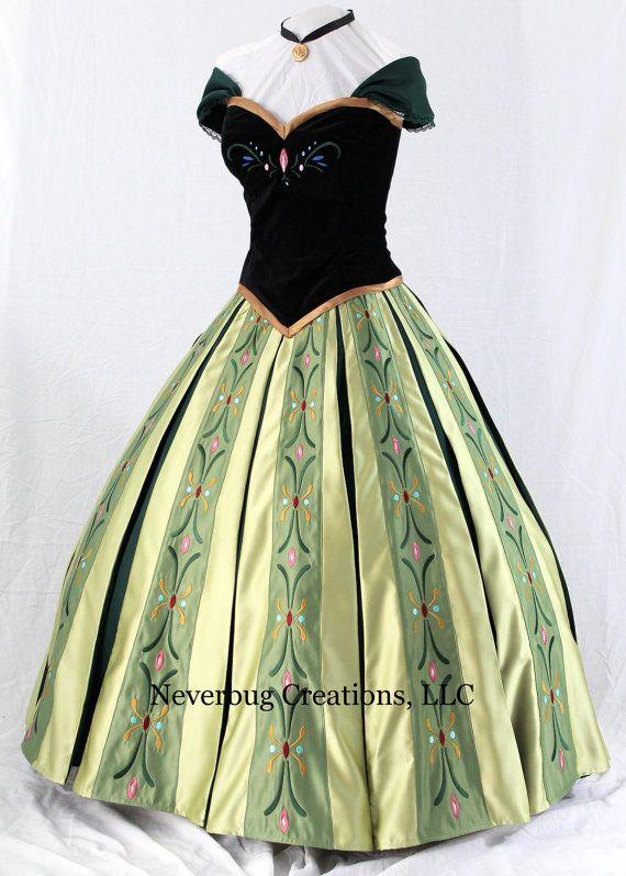 Costume princesse des neiges anna par neverbugcreations - Anna princesse des neiges ...