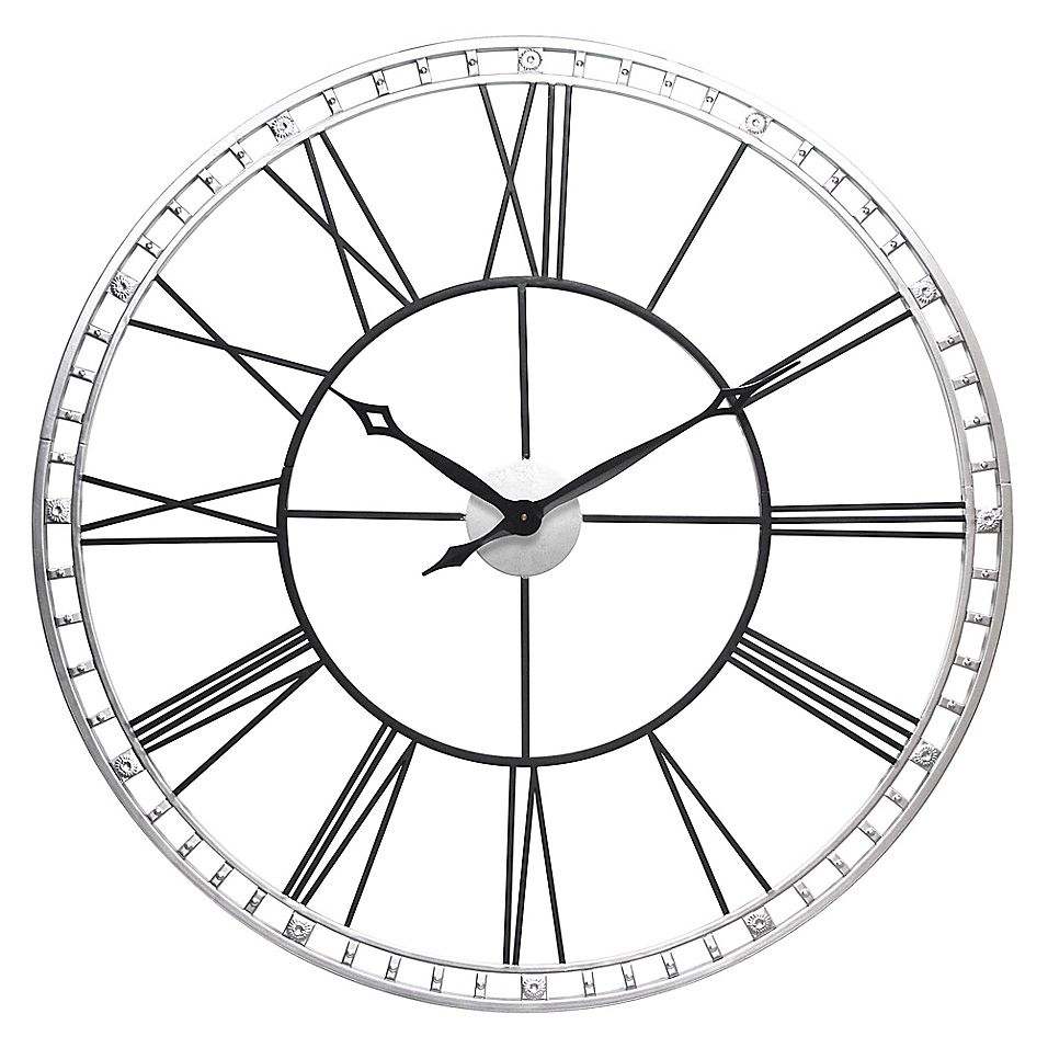 Infinity Instruments The Tower Xxl 39 Quot Wall Clock In