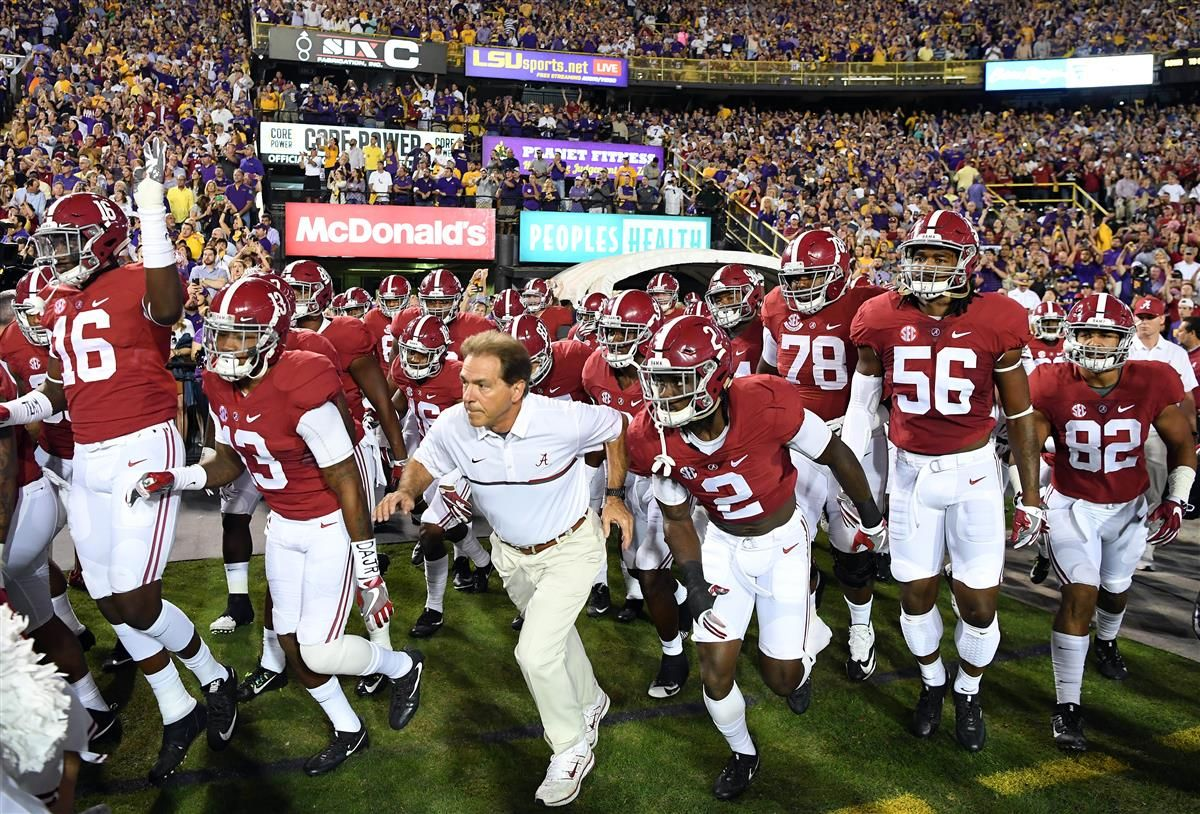 Photos Alabama shuts out LSU on the road Crimson tide