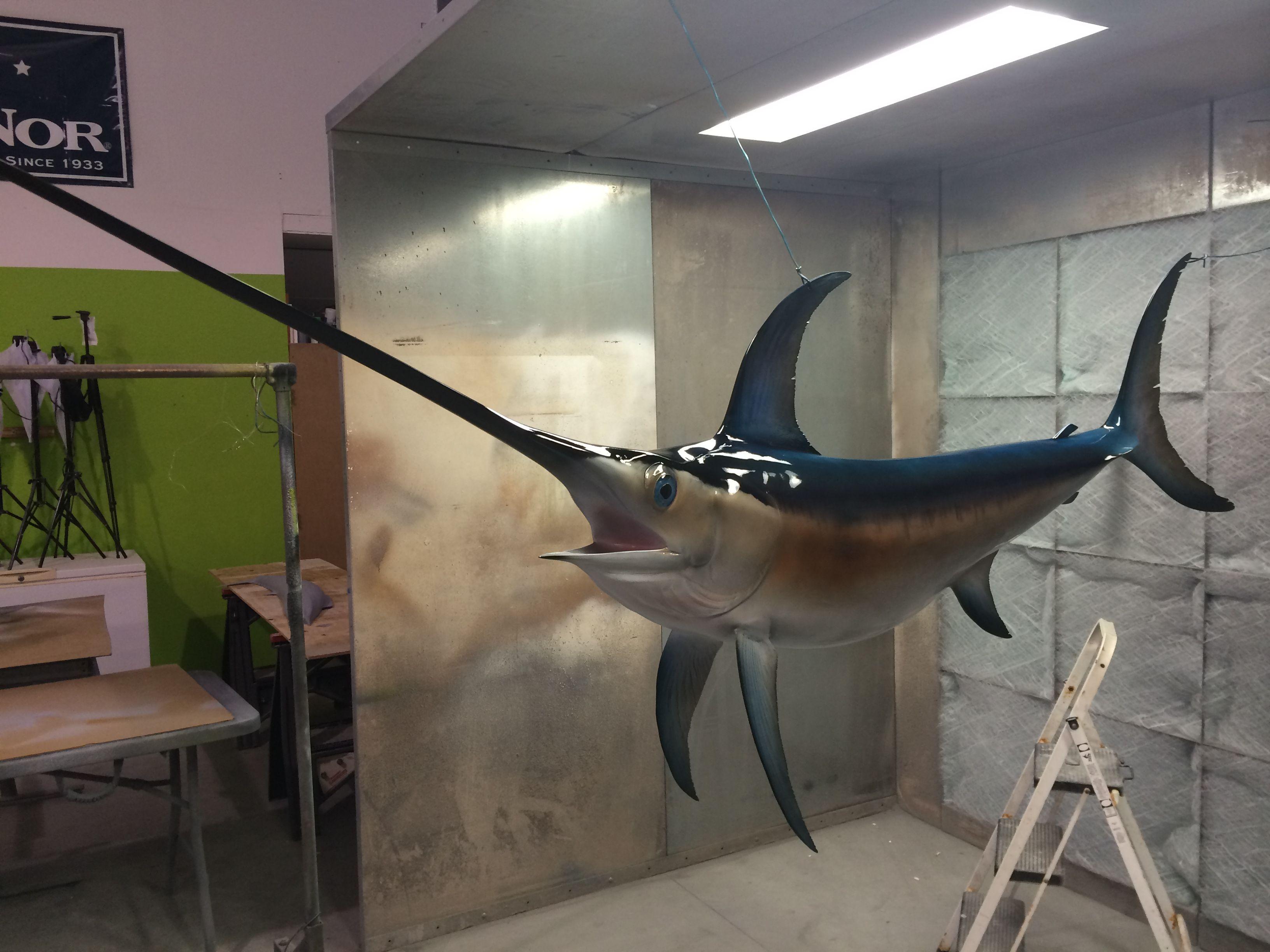 http www mountthis net 106 swordfish 3d suspension fish replica p