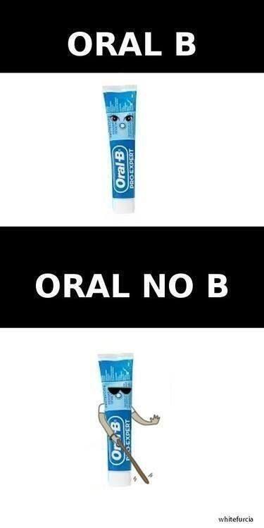 Oral B, representacion grafica!
