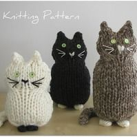 Knit a kitty for Halloween