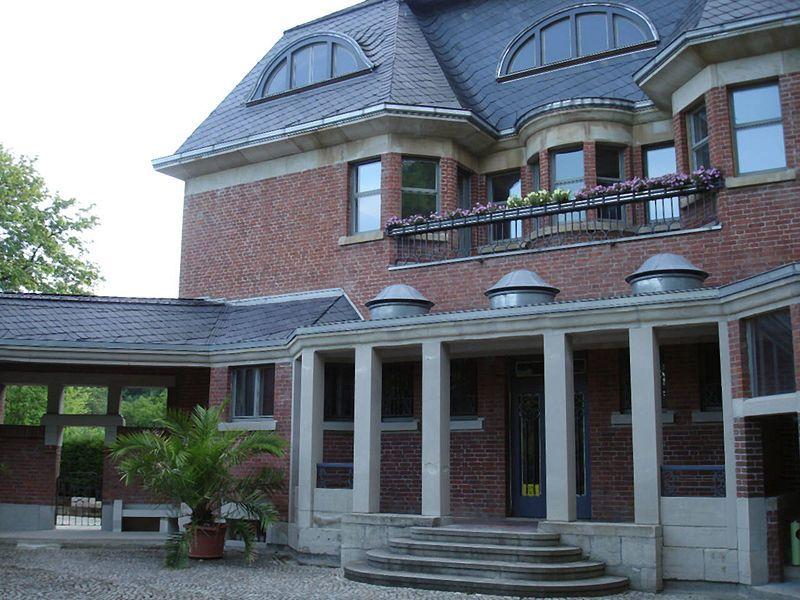 schulenburgsche villa in gera e henry van de velde pinterest. Black Bedroom Furniture Sets. Home Design Ideas