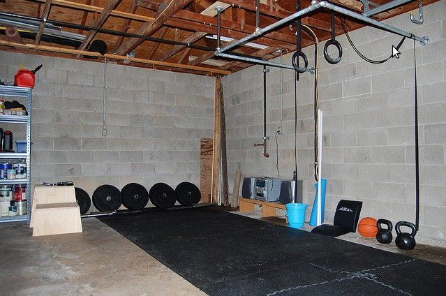 New Pull Up Bar In Garage