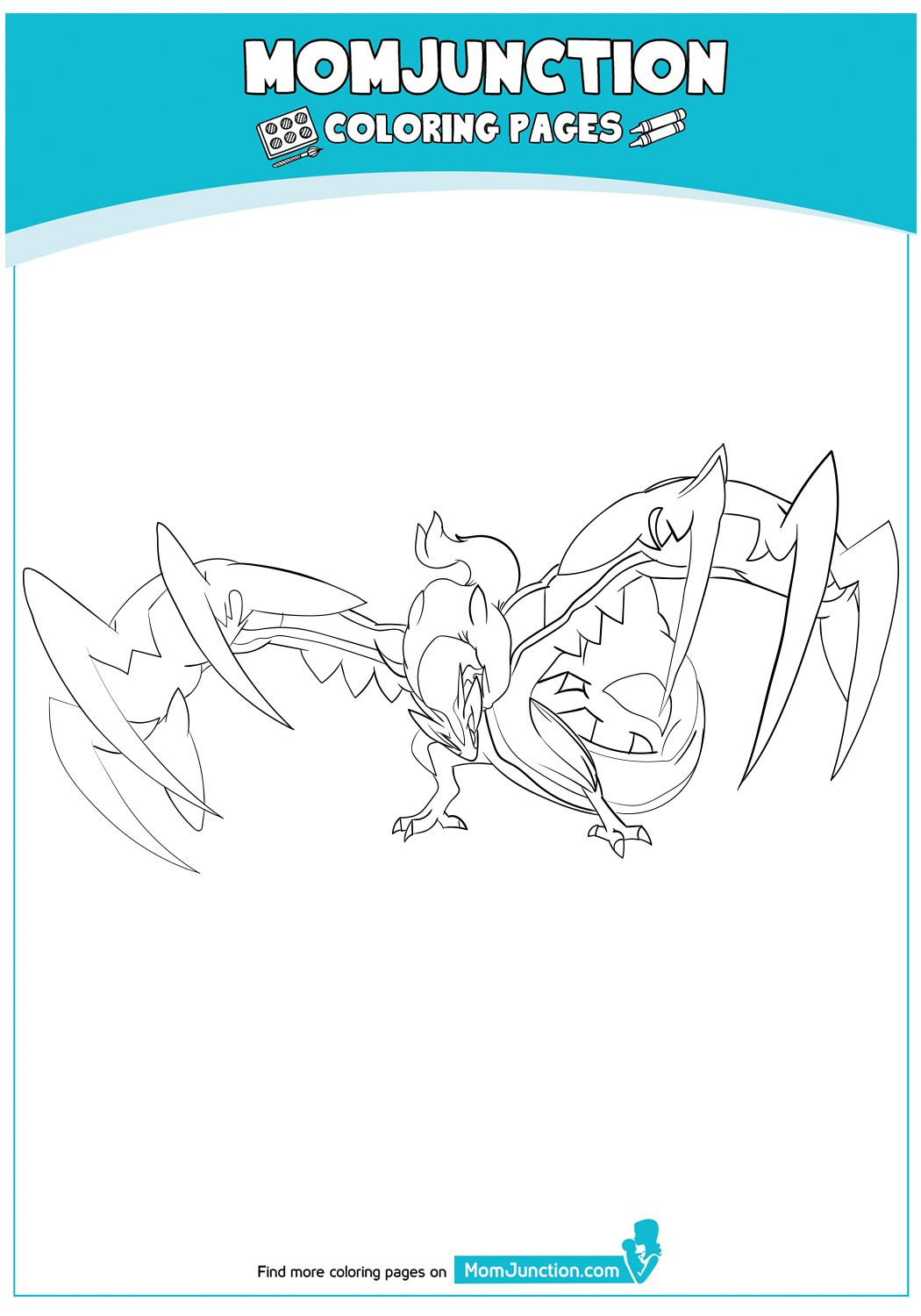Pokemon Go Logo Coloring Page Coloring Pages Mom Junction
