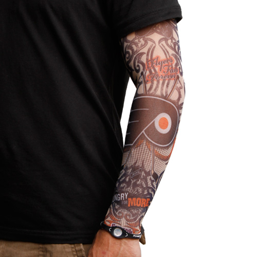 f3ca3a645880b Philadelphia Flyers Light Undertone Tattoo Sleeve | Philadelphia ...