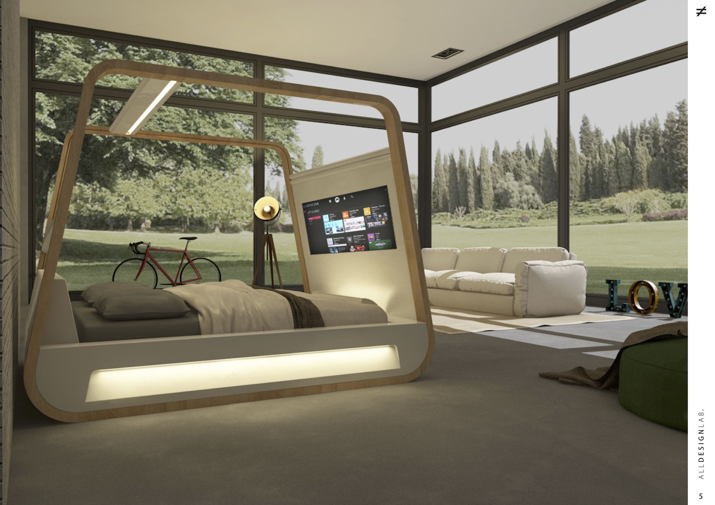 Design Connects Life Smart Design Smart Features Smart Bed