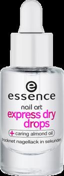 قطرات للتجفيف السريعة لطلاء الأظافر من ايسنس الوصف نقط تجفيف سريع للمناكير يجفف المناكير في ثواني Dry Nails Fast Essence Cosmetics Beauty Favorites