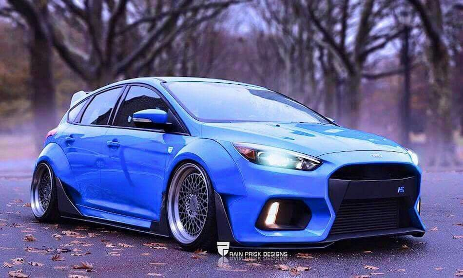 Ford Escape 2014 Custom >> Modified 2016 ford focus RS | Fast | Pinterest | Ford focus and Ford