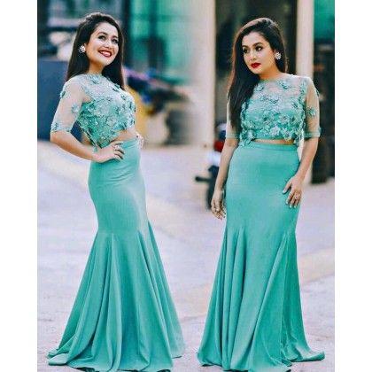 Buy Neha Kakkar Saree Dresses Lehenga Online Neha Kakkar Dresses Indian Gowns Dresses Indian Wedding Outfits