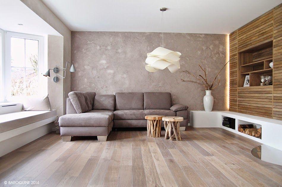 Douglasie Dielenboden in schönem Wohnzimmer (11) Wohnen - gemutliches zuhause dielenboden