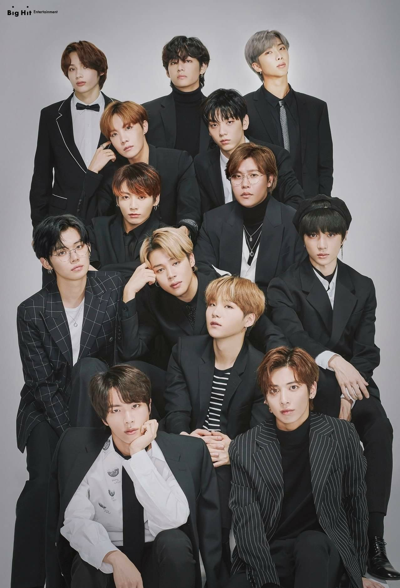 Big Hit Entertainment 15th Anniversary Artist Group Photo In 2020