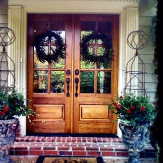 Love The Double Doors | Home Sweet Home. | Pinterest | Doors, Front Doors  And Porch