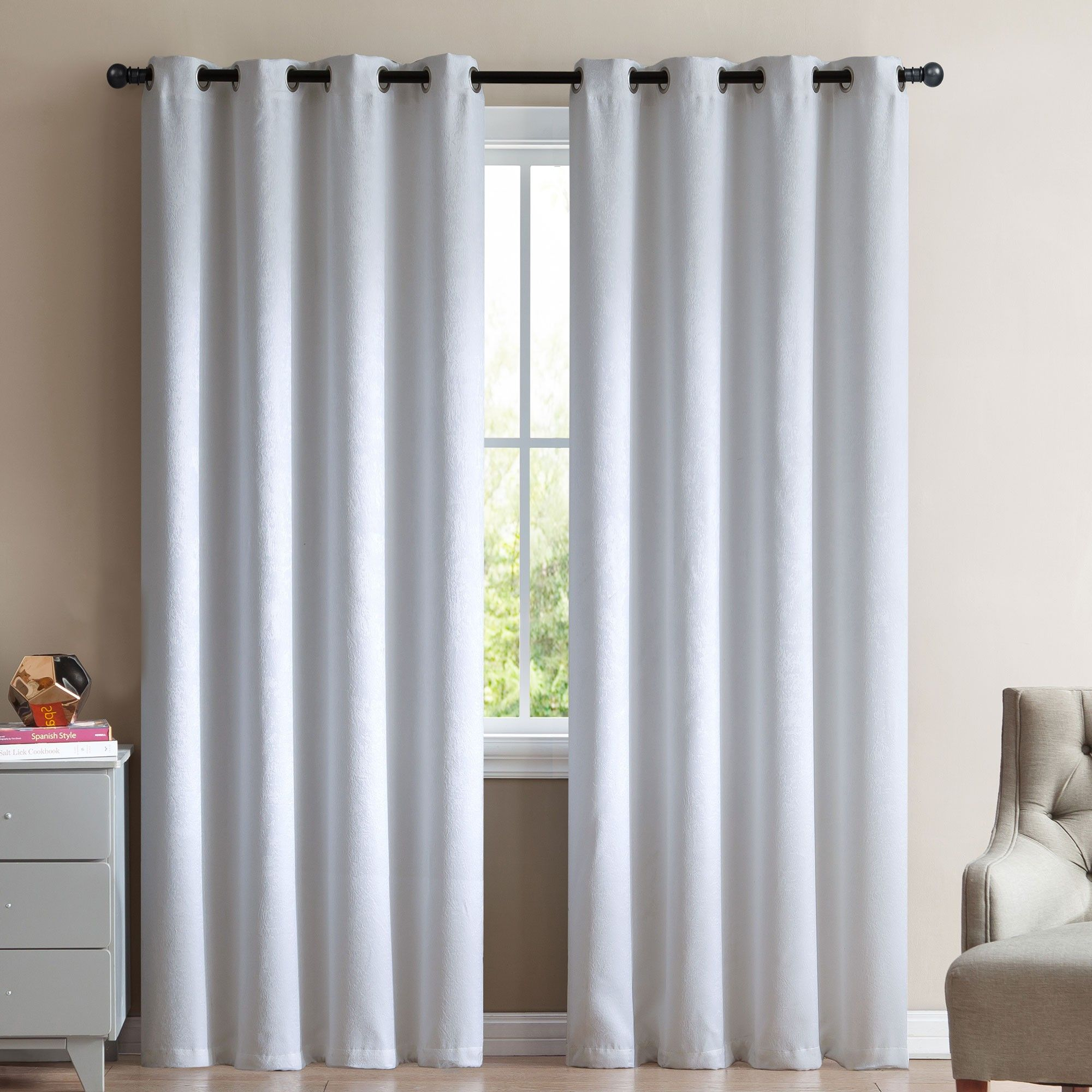 Give your windows a stylish treatment with VCNY\'s Marco blackout ...