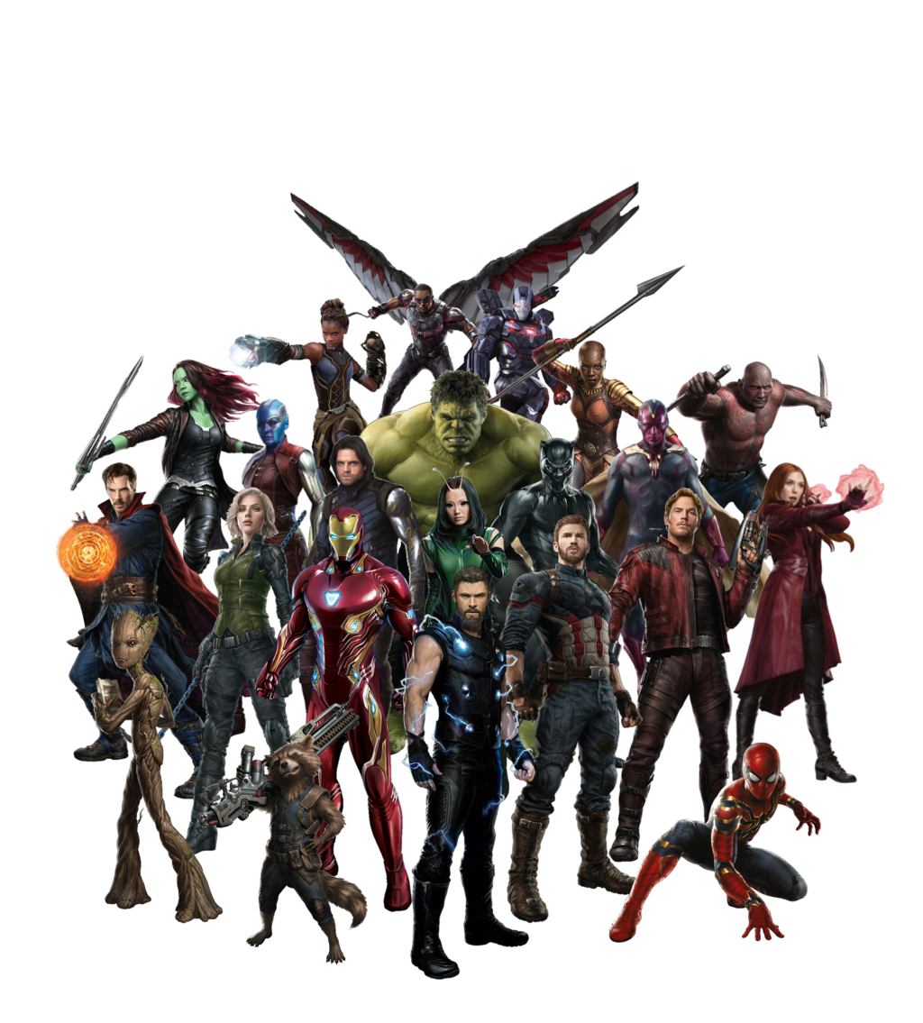 Avengers Infinity War team by AmethystMajesty25