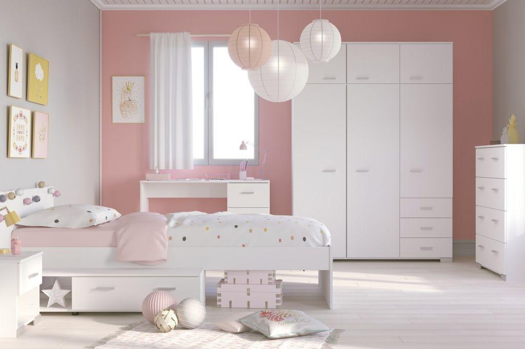Mädchenzimmer Weiß