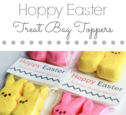 Hoppy easter treat bag toppers hoppy easter bag toppers and easter hoppy easter treat bag toppers negle Gallery