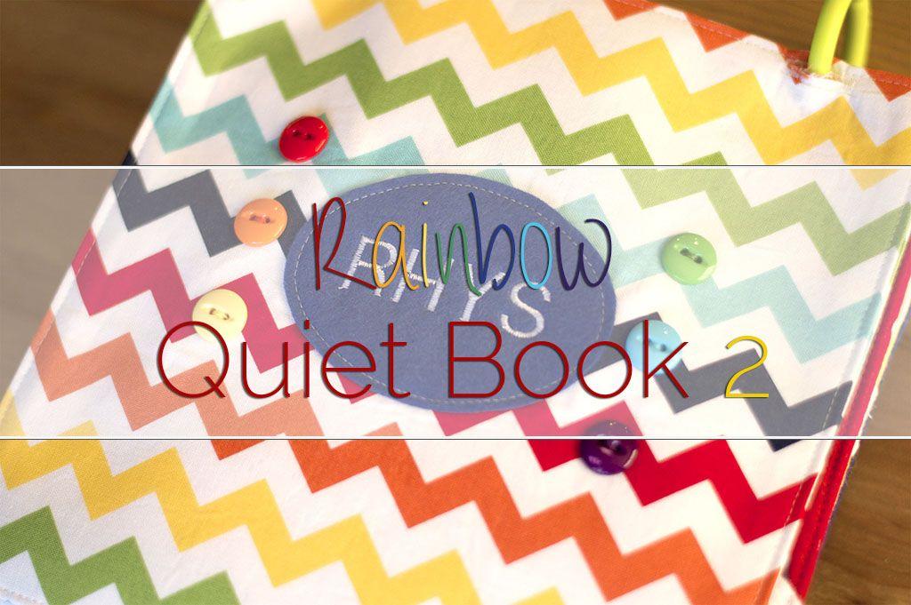 RainbowButtonQuietBookHeader