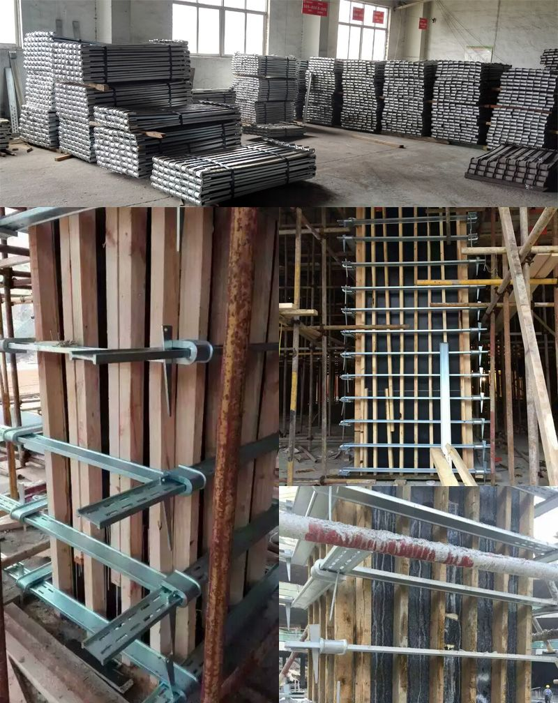 Steel Column Formwork Clamp Easy Handling No Need Tie Rod Quick Installation And Reused For Over 10 Years Concrete Formwork Steel Columns Concrete Column