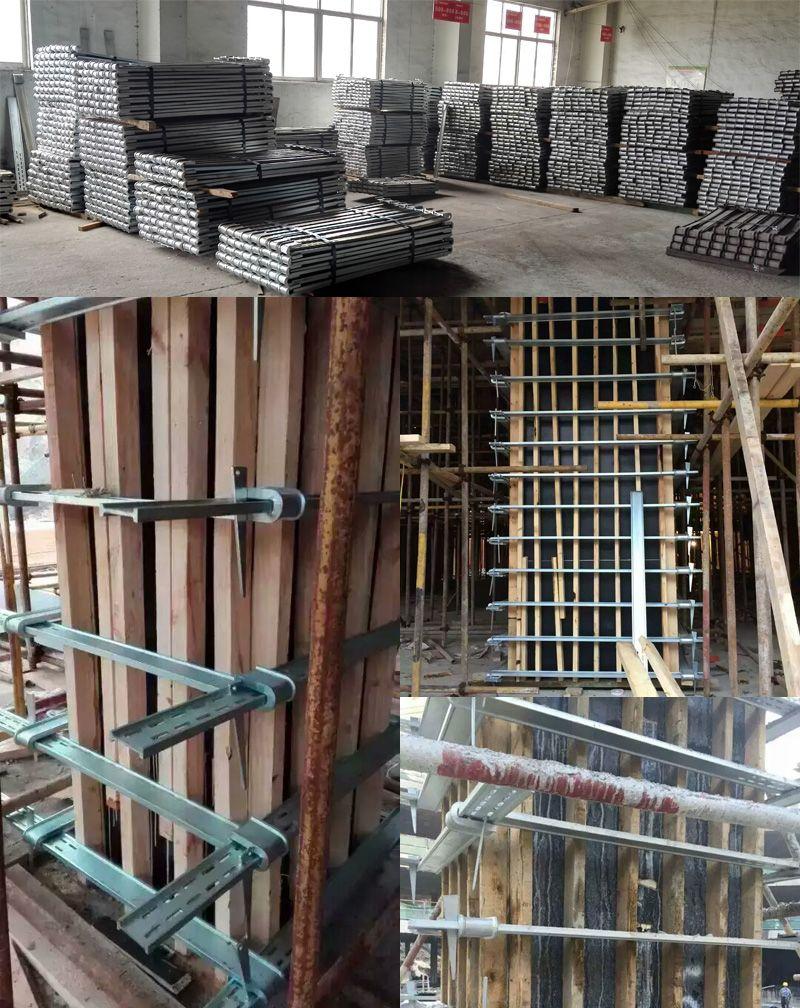 Steel Column Formwork Clamp, easy handling, no need tie rod