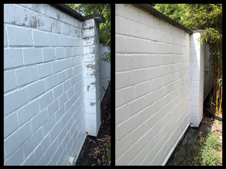 Fabelhaft Gartenmauer renovieren und neu streichen #gartenmauer #renovieren @IQ_49