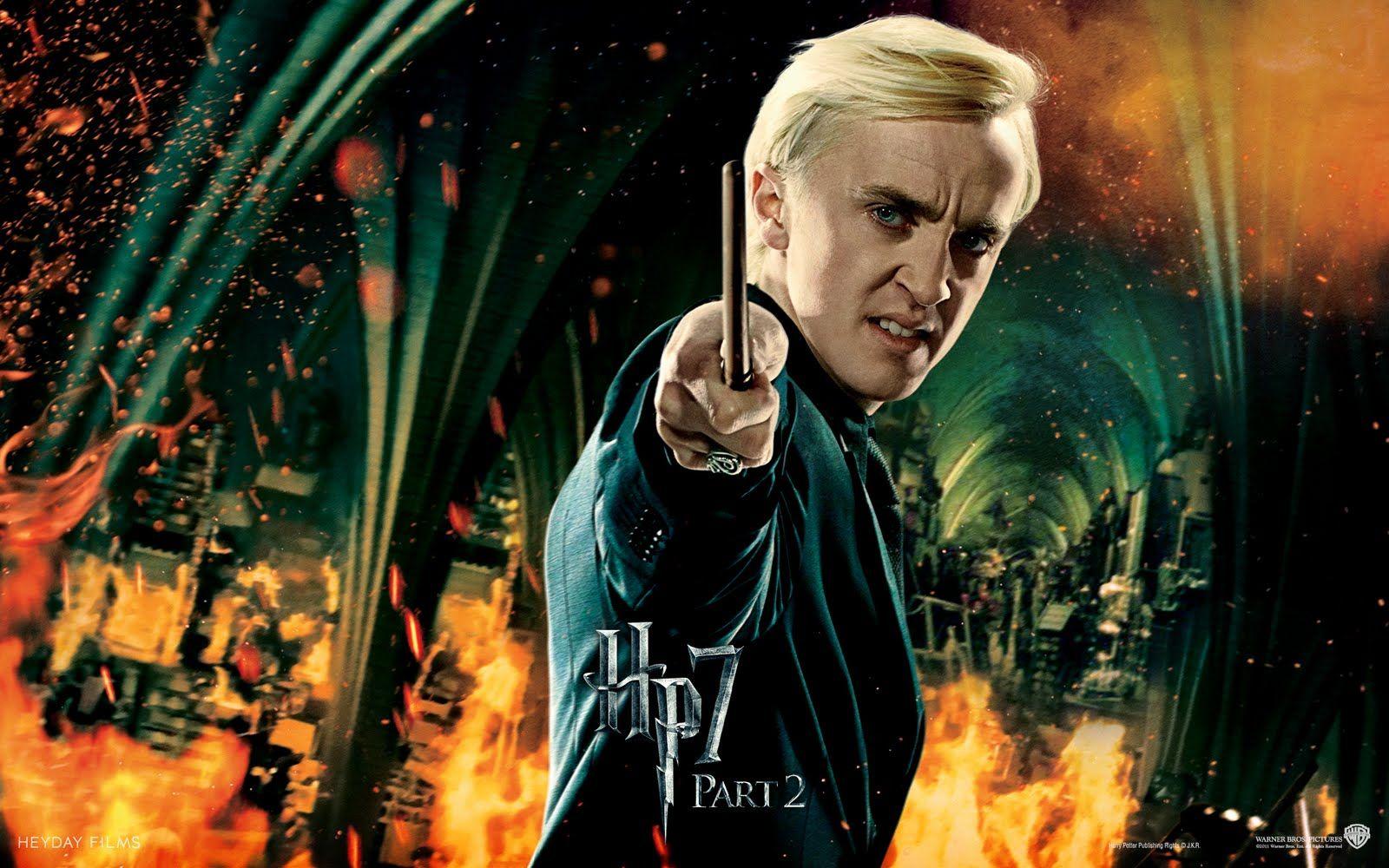 Draco Malfoy Harry Potter Draco Malfoy Harry Potter Scene Deathly Hallows Wallpaper