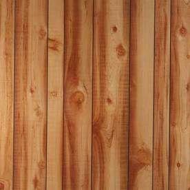 Murphy 1 8 X 4 X 8 Cedar Mdf Wall Panel Cedar Walls Wall