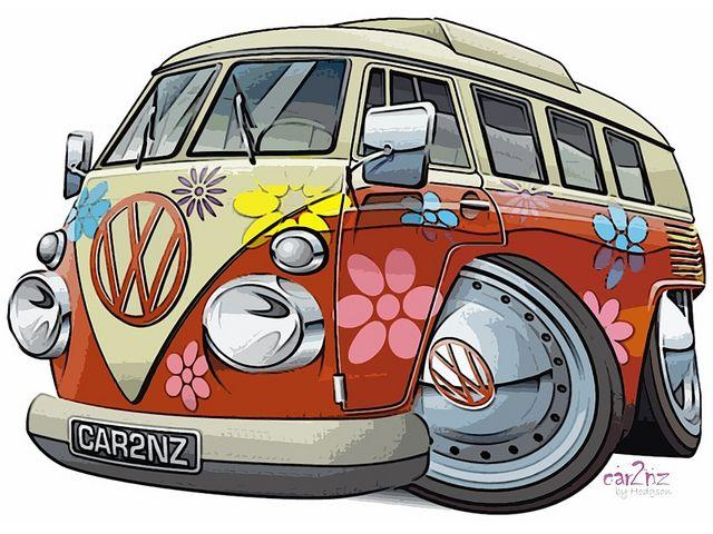 Рисунки автобусов прикольные