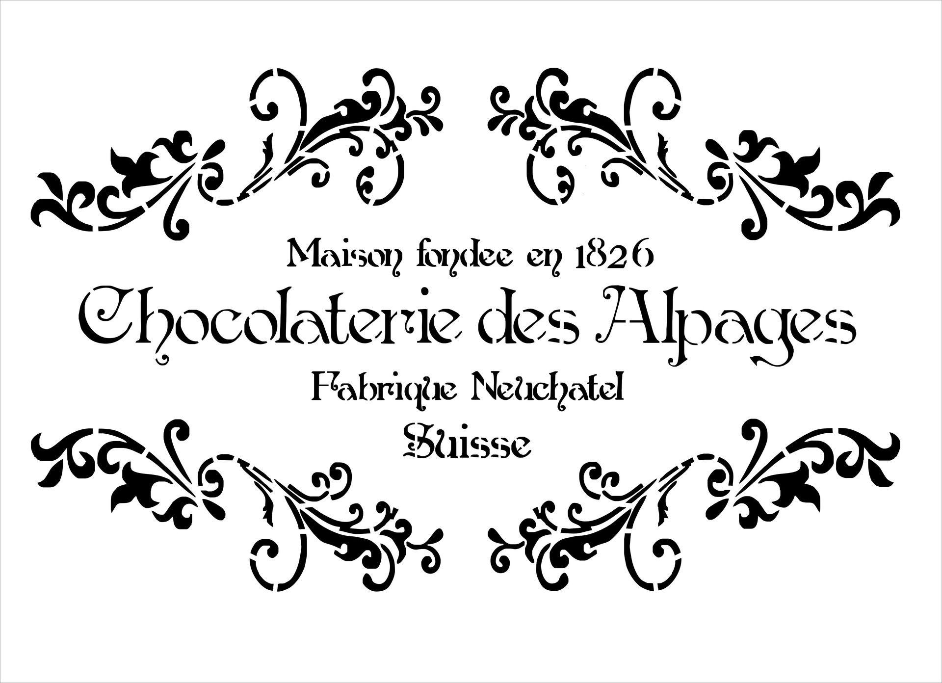 Bonne Etsy.com   Achetez Tout Auprès De Créatifs Du Monde Entier. La Chocolaterie PochoirsPeinture ...