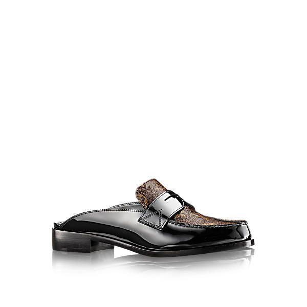 006eeb56466 LOUIS VUITTON Academy Open Flat Loafer.  louisvuitton  shoes ...